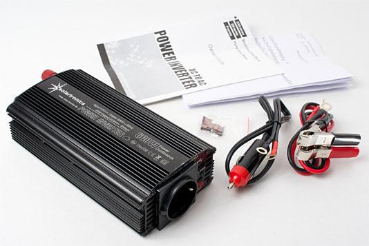 Beispiel: Spannungswandler 12V 600/1200 Watt