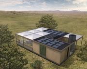 """Sonnenstrom und Regenwasser: das """"NexusHaus"""" nutzt fast ausschließlich natürliche Ressourcen – und s ... NexusHaus@TUM/UTA"""